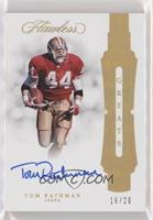 Tom Rathman #/20