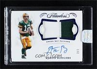 Aaron Rodgers [Uncirculated] #2/3