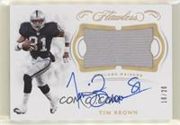 Tim Brown #/20