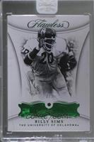 Billy Sims [Uncirculated] #/5