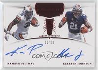 Kamryn Pettway, Kerryon Johnson /20