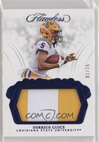 Derrius Guice [Noted] #/15