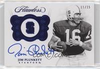 Jim Plunkett #/15