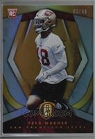 Rookies - Fred Warner [Noted] #/49