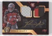 Rookie Jersey Autographs Double Prime - Ronald Jones II /25