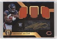 Rookie Jersey Autographs Triple Prime - Anthony Miller #/25