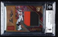 Rookie Jersey Autographs Jumbo Prime - Baker Mayfield [BGS 9 MINT] #/…