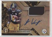 Rookie Jersey Autographs - James Washington #/99