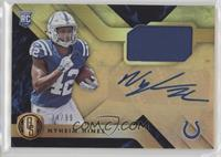 Rookie Jersey Autographs - Nyheim Hines /99