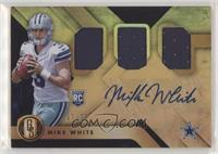Rookie Jersey Autographs Triple - Mike White /75