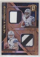 Michael Gallup, Mike White #/49