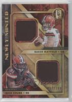 Baker Mayfield, Nick Chubb /199