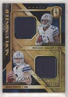 Michael Gallup, Mike White #/199