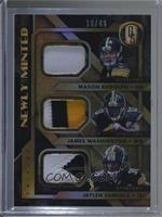 James Washington, Jaylen Samuels, Mason Rudolph #10/49