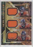 Bradley Chubb, Courtland Sutton, Royce Freeman /199