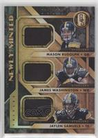 Mason Rudolph, James Washington, Jaylen Samuels /199