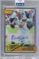 Baker Mayfield [Uncirculated] #/49