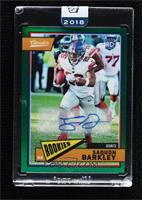 Saquon Barkley [Uncirculated] #/25