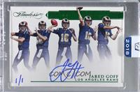 Jared Goff [Uncirculated] #/1