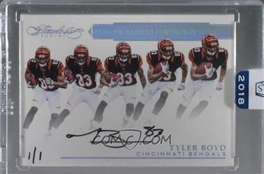 2018 Panini Honors - Recollection Collection Autographs #4905 - Tyler Boyd /1 [BuyBack]