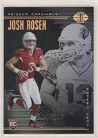 Josh Rosen, Kurt Warner #/25
