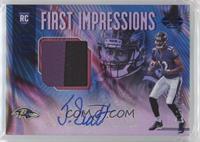 First Impressions Autograph Memorabilia - Jaleel Scott #/100