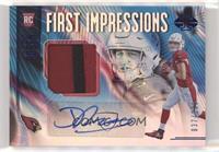First Impressions Autograph Memorabilia - Josh Rosen #/100