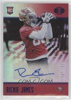 Rookie Signs - Richie James #/100