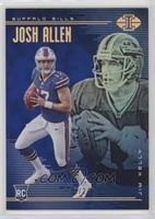 Jim Kelly, Josh Allen #/249