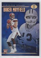 Baker Mayfield, Vinny Testaverde [EXtoNM] #/249