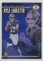 Kyle Lauletta, Eli Manning #/249