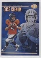 Case Keenum, John Elway #/249