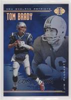 Jim Plunkett, Tom Brady #/249