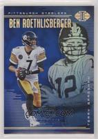 Terry Bradshaw, Ben Roethlisberger #/249