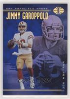 Jimmy Garoppolo, Joe Montana [Noted] #/249