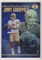 Jimmy Garoppolo, Joe Montana #/249