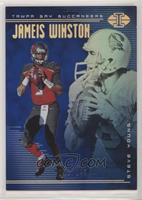 Jameis Winston, Steve Young #/249