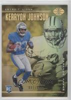 Barry Sanders, Kerryon Johnson #/499