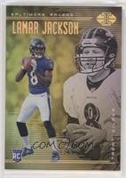 Lamar Jackson, Trent Dilfer #/499