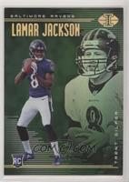 Lamar Jackson, Trent Dilfer #/99