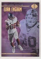 Evan Engram, Jeremy Shockey #/75