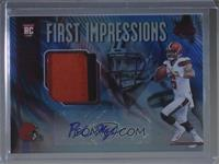 First Impressions Autograph Memorabilia - Baker Mayfield #/50