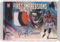 First Impressions Autograph Memorabilia - DaeSean Hamilton #/50