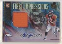 First Impressions Autograph Memorabilia - Royce Freeman #/50