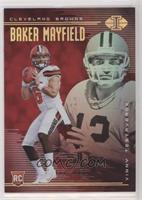Baker Mayfield, Vinny Testaverde [Noted] #/199