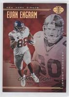 Evan Engram, Jeremy Shockey #/199