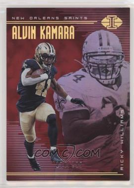 2018 Panini Illusions - [Base] - Trophy Collection Red #50 - Alvin Kamara, Ricky Williams /199