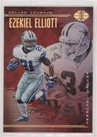 Ezekiel Elliott, Herschel Walker #/199