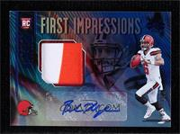 First Impressions Autograph Memorabilia - Baker Mayfield #/175