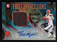 First Impressions Autograph Memorabilia - Baker Mayfield #79/175